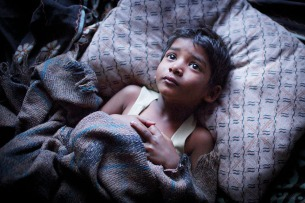 Sunny Pawar stars in LION Photo: Mark Rogers